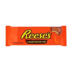 Reese's 3 Peanut Butter Cups 51g 40ks*6b