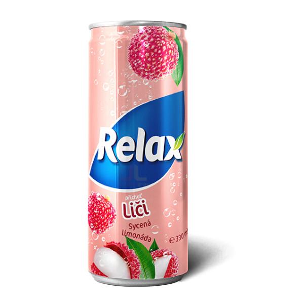 Relax CSD 330ml Liči