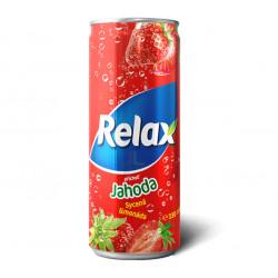 Relax CSD 330ml Jahoda