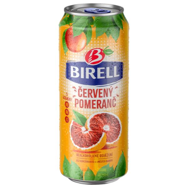 Birell plech 0.5l Červený pomeranč
