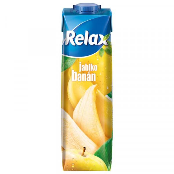 Relax 1L Banán - Jablko
