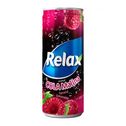 Relax CSD 330ml Cola - Malina
