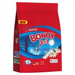 BONUX PRÁŠEK 1,5KG WHITE WHITE LILAC