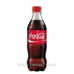Coca 0,5L Červená