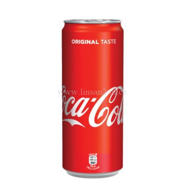 Coca 330ml Červený