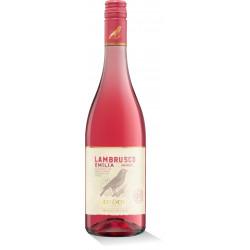Lambrusco 0,75L Rosato (růžová)