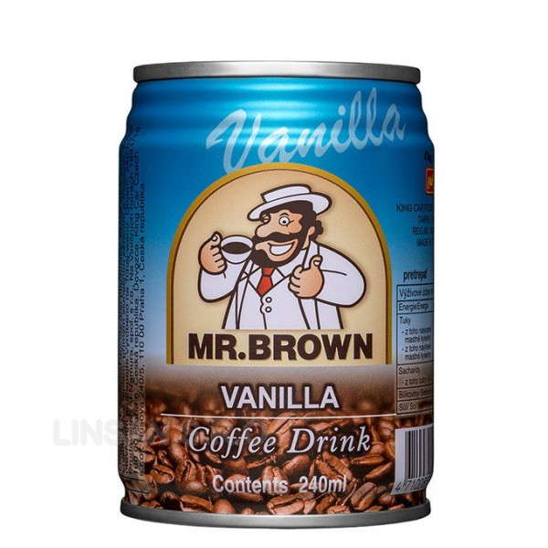 Mr. Brown 240ml Vanilla