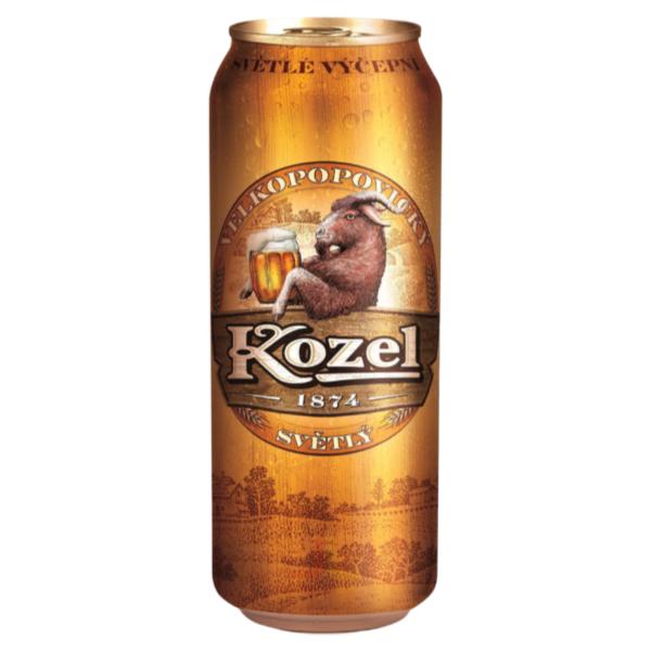 Kozel Plech 0,5L SVĚTLÝ 10°