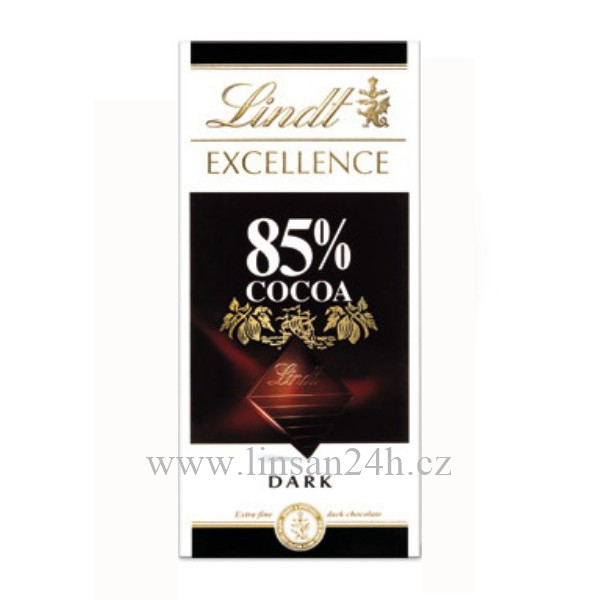 Lindt čoko.100g 85% Cocoa