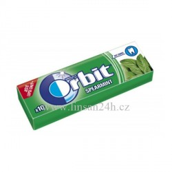 Orbit 14g Zelený - Spearmint CZ