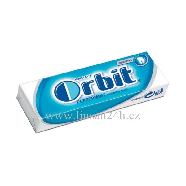 Orbit 14g Modrý - Peppermint CZ