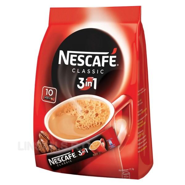 Nescafe 3 in1 Classic 10x18g