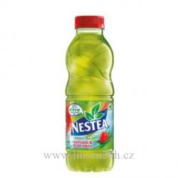 Nestea 0,5L GREEN TEA - STRAWBERRY & ALOE VERA
