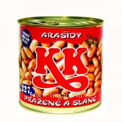 KK arašídy 227g Plechovka