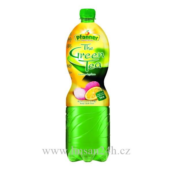 Pfanner 1.5L Greentea Lemon-lychee