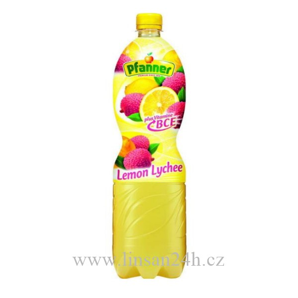Pfanner 1.5L Lemon Lychee