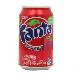 USA 355ml Fanta Strawberry - Jahoda
