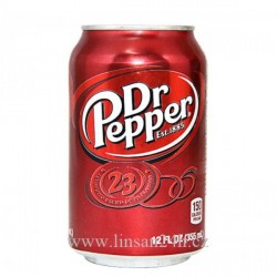 USA 355ml Dr. Pepper 23