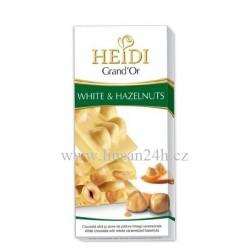 Heidi 100g Hazelnuts - White