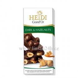 Heidi 100g Hazelnuts - Dark