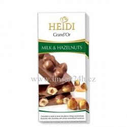 Heidi 100g Hazelnuts - Milk