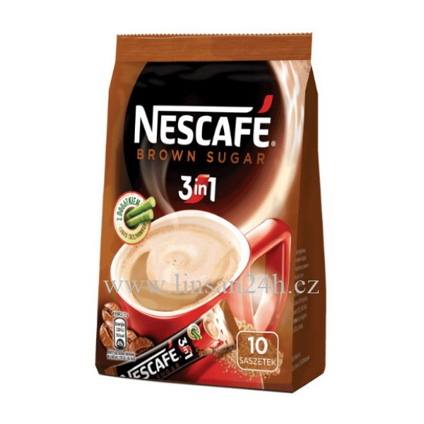 Nescafe 3in1 Brown Sugar 10x17g
