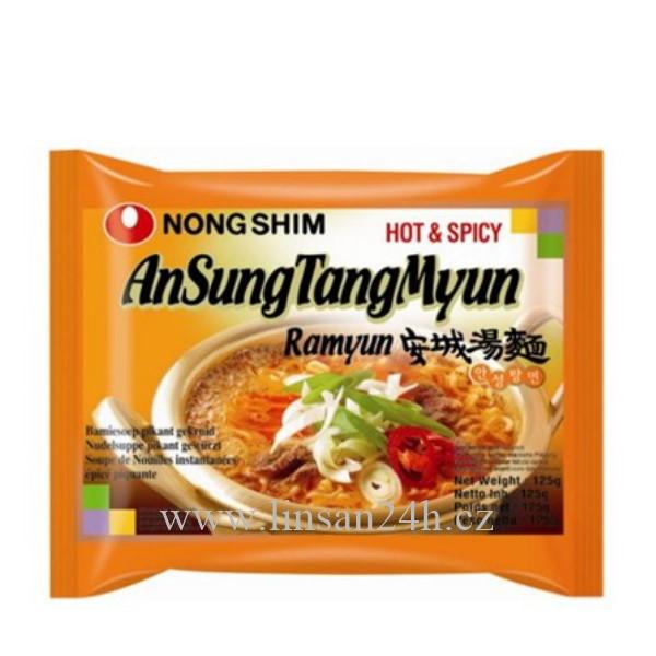 HQ NongShim 125g Ramyun AnsungT. Hot