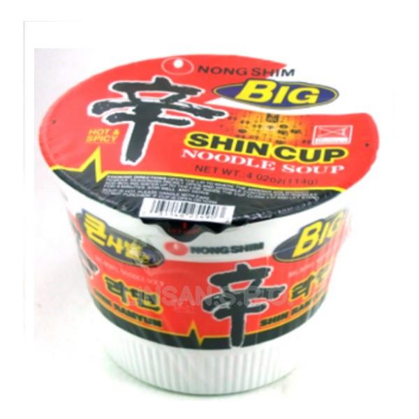 HQ BigBowl NongShim 114g Shin Spicy