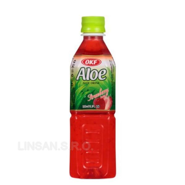 OKF Aloe King 0,5L Jahoda