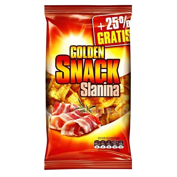 Golden Snack 100g+25% Slanina