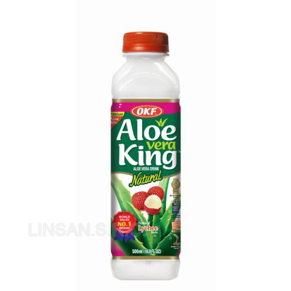 OKF Aloe King 0,5L Liči Lychee