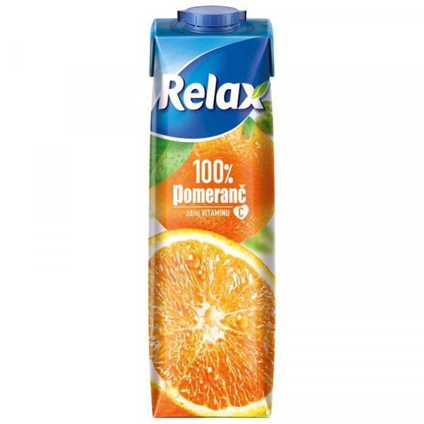 Relax 1L 100% Pomeranč