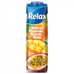 Relax 1L select Pomeranč, Mandrinka, mango, Ma.