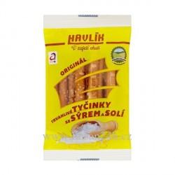 Havlík Tyčinky 90g Originál se sýrem - Žlutá