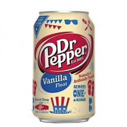 USA 355ml Dr. Pepper  Vanilla Float