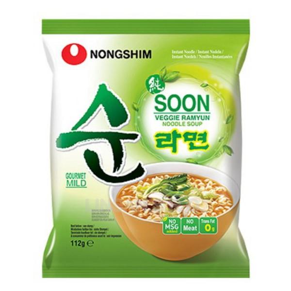 HQ Nongshim 112g Soon veggie Ramyun Multi
