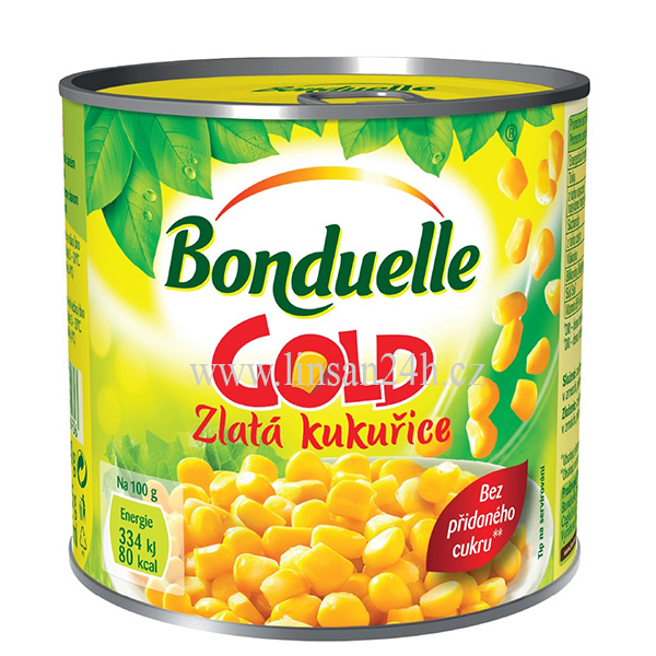 Bonduelle 425ml 285g GOLD Zlatá Kukuřice