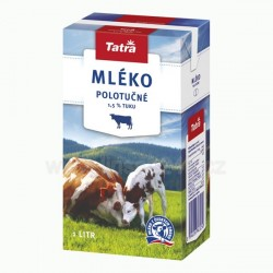 Tatra Mléko Trvanlivé 1L Polotučné 1.5% (HDB 45_n)