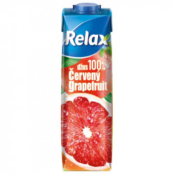 Relax 1L 100% Cervený grapefruit