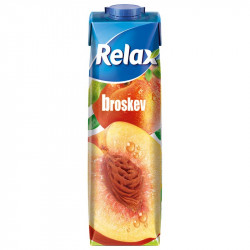 Relax 1L select Broskev