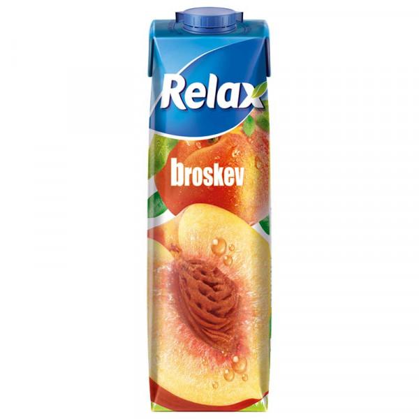 Relax 1L select Broskev