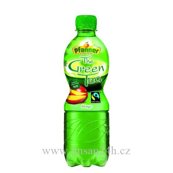 Pfanner 0.5L Green Tea Mango