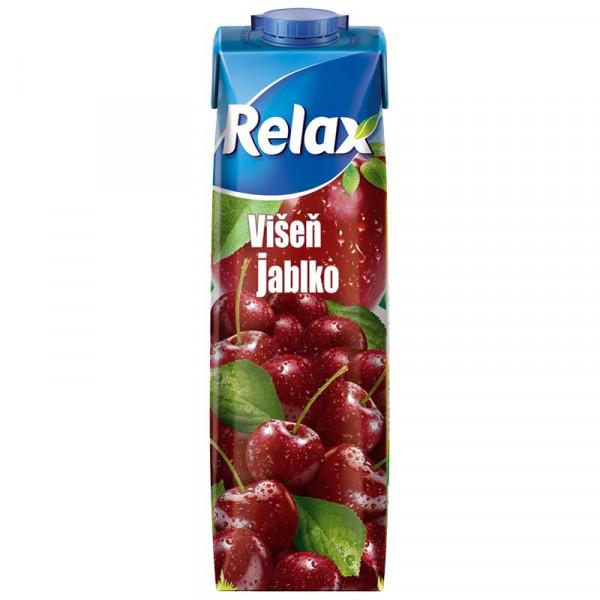 Relax 1L Višeň - Jablko.