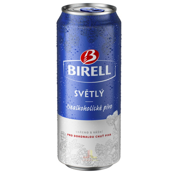 Birell ple.0,5L Nealkoholické Pivo