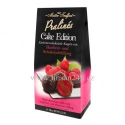 Maitre 148g Cake edition Dark Choc. - Raspberry