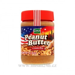 Gina Peanut Butter 350g Crunchy