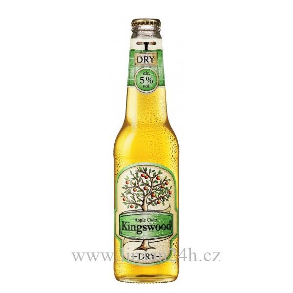 Kingswood SKLO 400ml DRY 4,5% Zelená