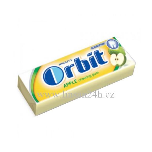 Orbit 14g Apple - Jablko CZ