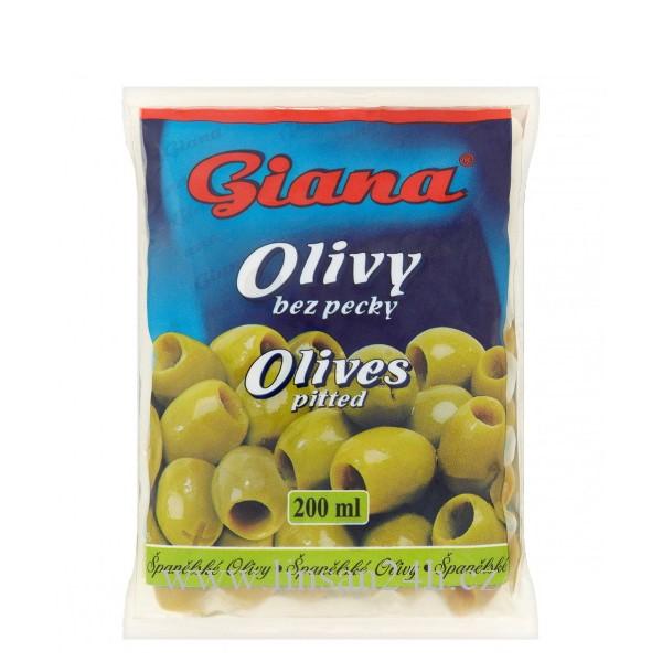 Olivy GIANA - 200ml zelené sáček bez pecky