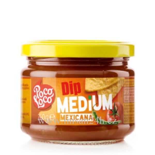 Salsa PocoLoco 260g Mexicana Medium